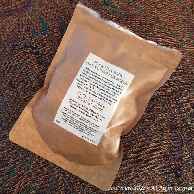 Coconut Coffee Scrub Package