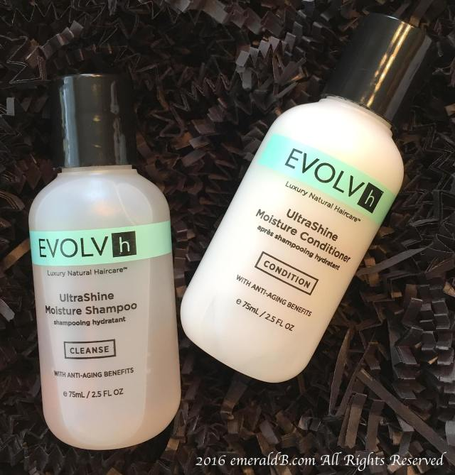 Evolvh UltraShine Shampoo & Conditioner