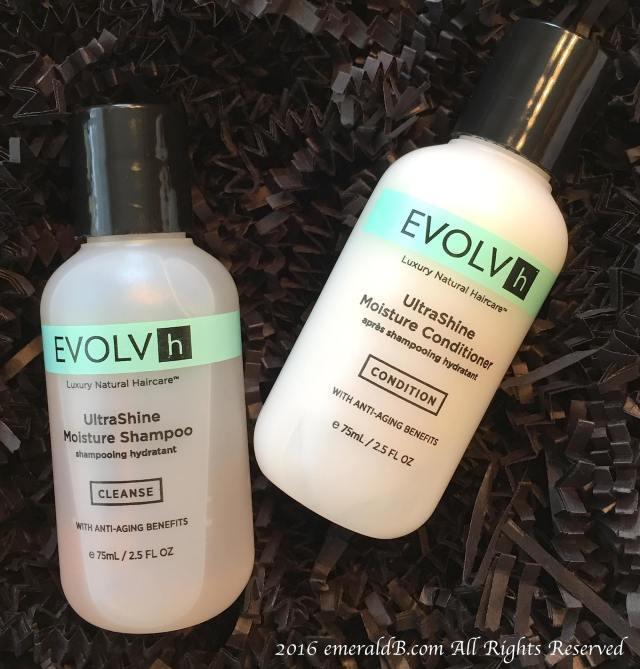 Evolvh UltraShine Shampoo & Conditioner
