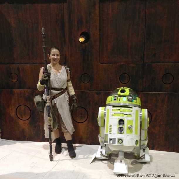 Rey astromech droid