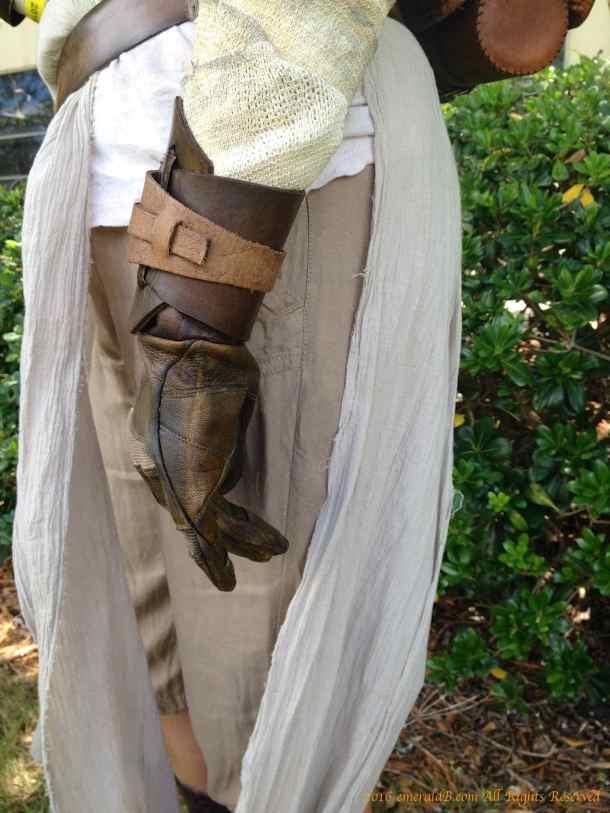 Rey Costume Glove Bracer