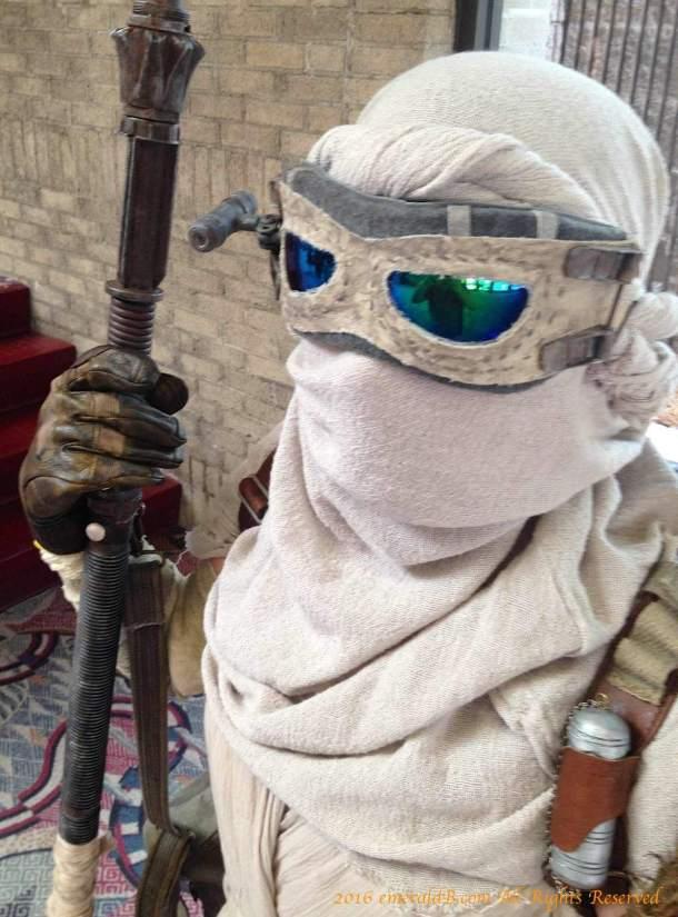 Rey head wrap