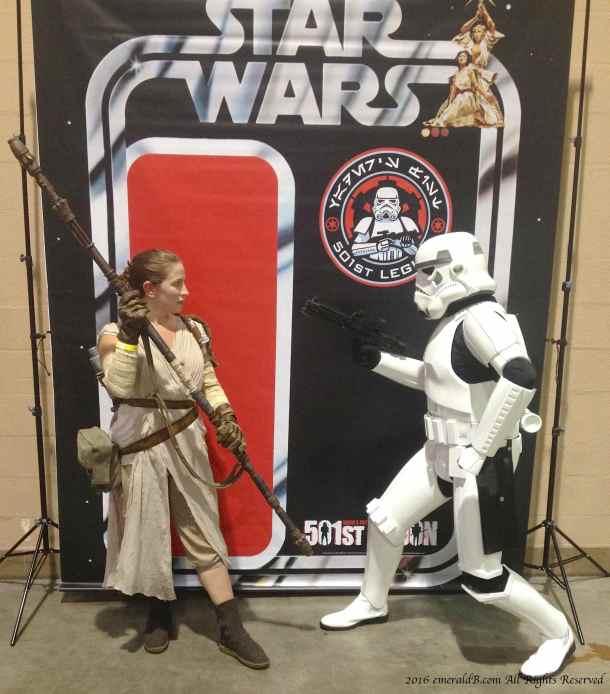 Rey Stormtrooper 501st
