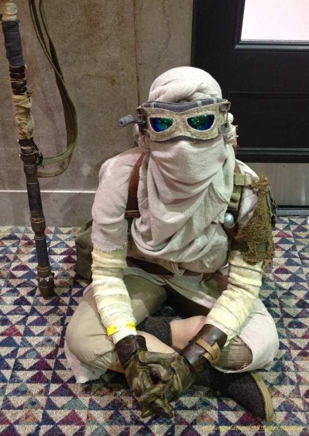 Scavenger Rey costume