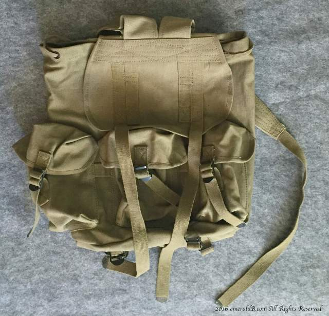 rothco canvas backpack