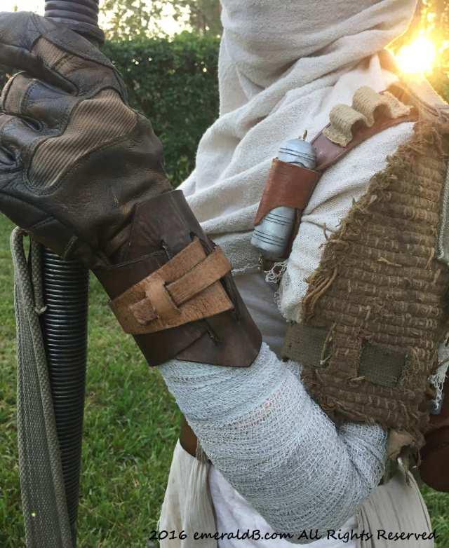 Rey Costume Wrist Cuff