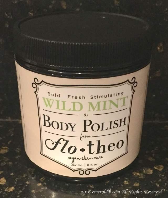Flo + Theo Wild Mint Body Polish