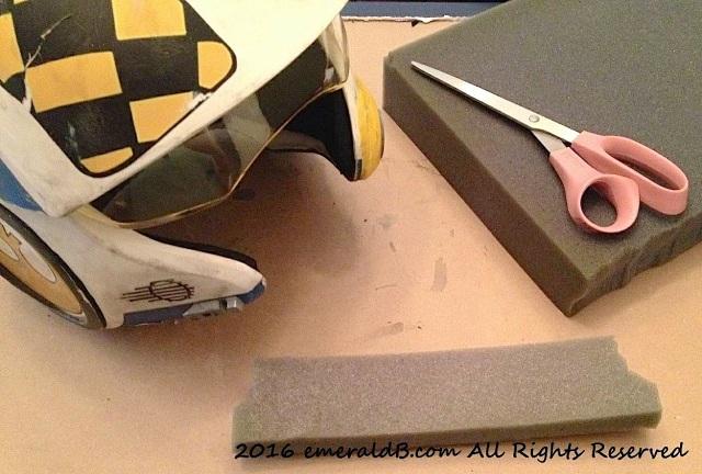 X-wing Pilot Helmet Foam