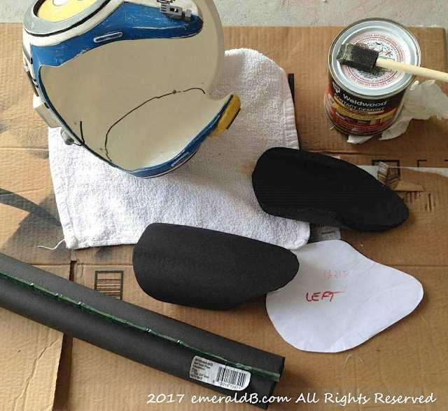 X-wing Pilot Helmet Padding