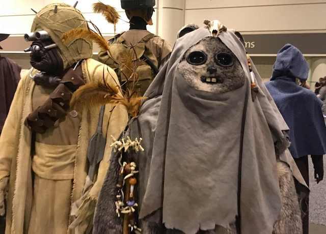 Ewok Tuskan Raider Costumes