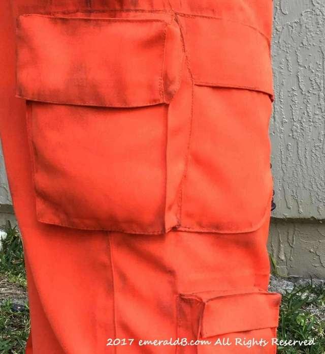 Flight Suit Pockets