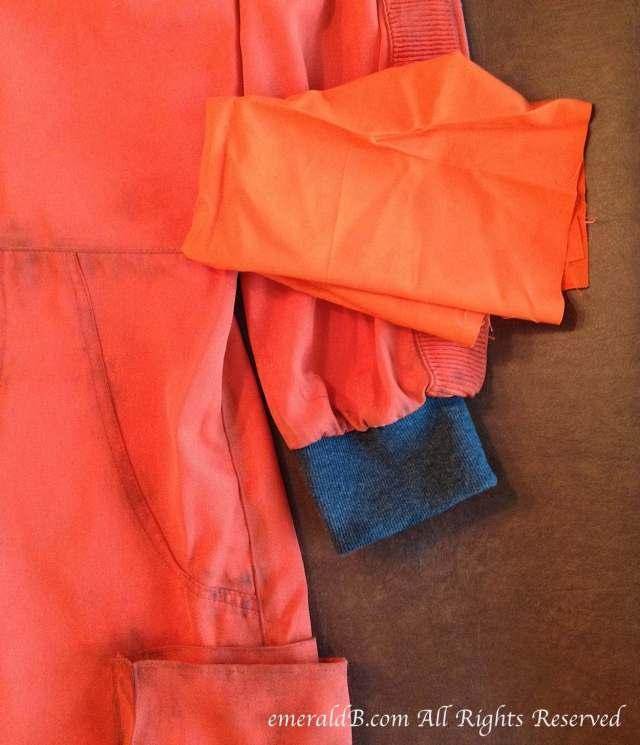 flight suit color