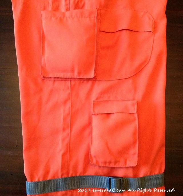 Flight Suit Side Pockets