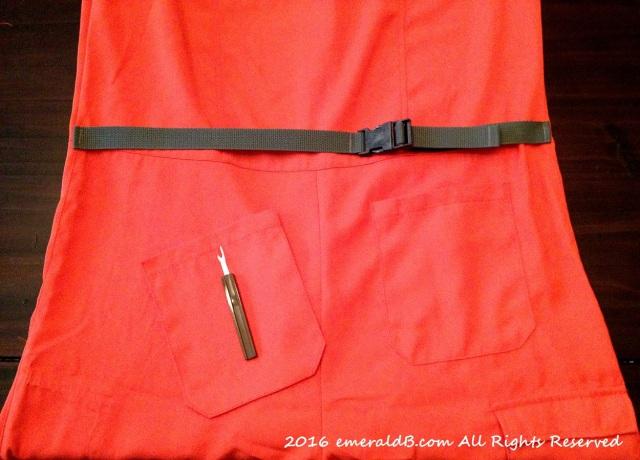 Flight Suit Pocket Removal