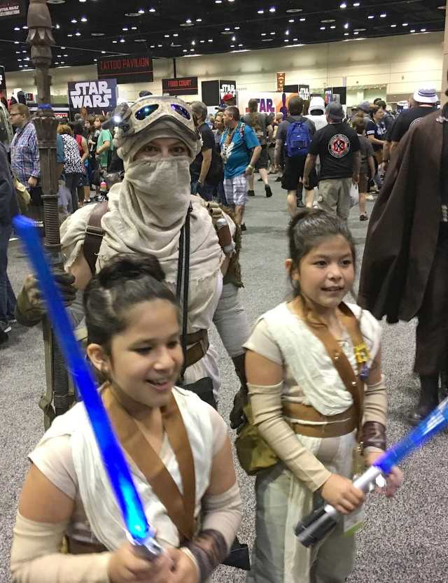 Kid Rey Costumes